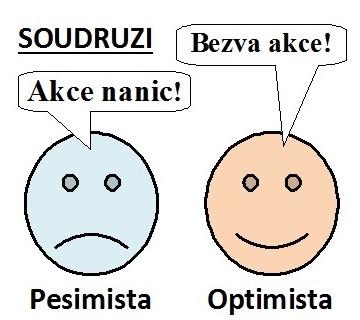 Soudruh smajlík pesimistický a opzimistický